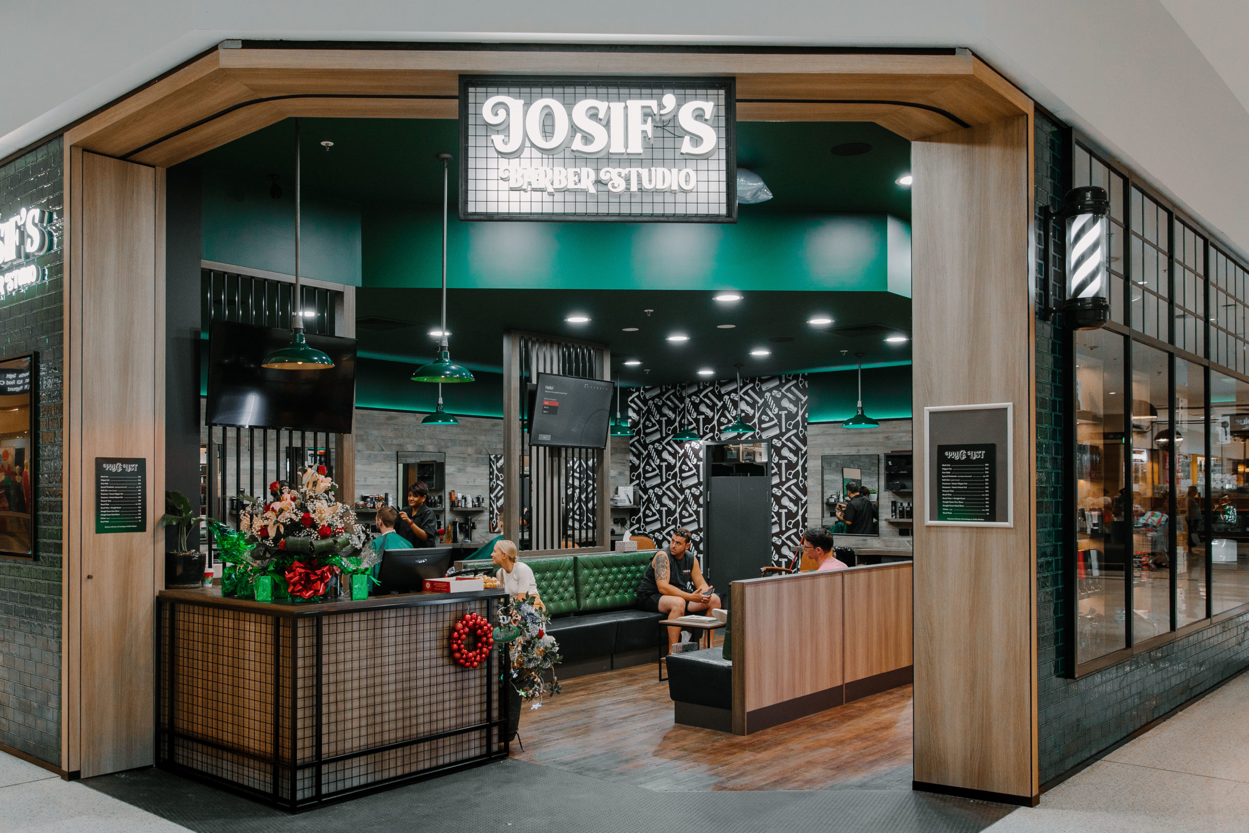 Josifs Barber Studio Mt Ommaney